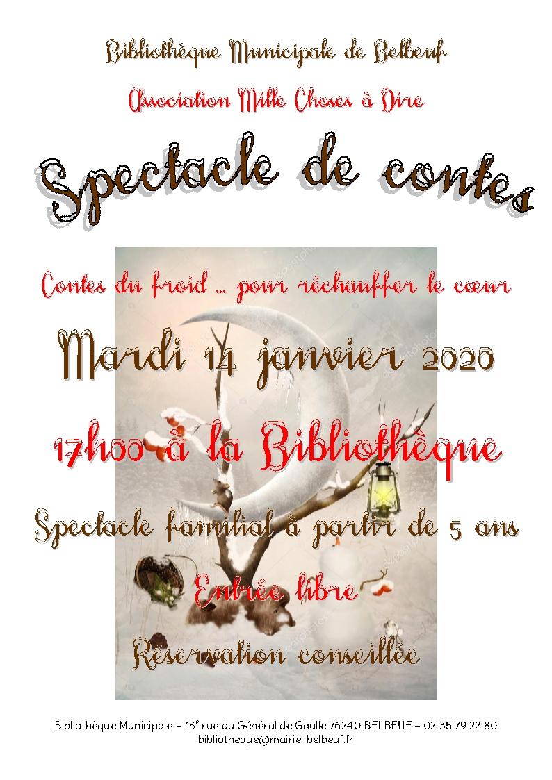 Spectale de contes - Bibliothèque de Belbeuf |